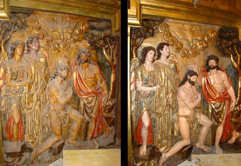 Detalle Retablo Catedral de Santander