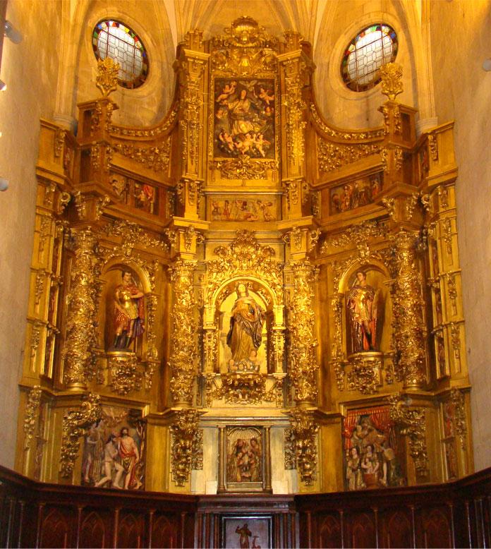 Retablo Catedral de Santander.